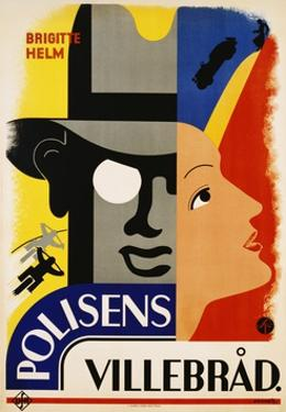 Polisens Villebrad Movie Poster by Donner