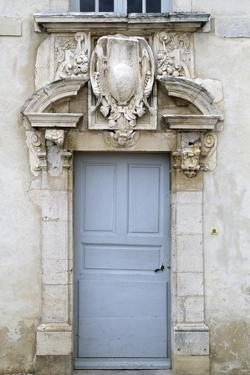 Door, Chateau Gilly-Les-Citeaux, Burgundy. France, 16th Century