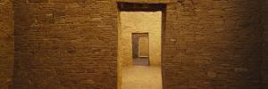 Doors in Anasazi Ruins, Pueblo Bonito, Chaco Culture National Historic Park, New Mexico, USA