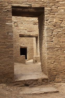 Doorways Inside Pueblo Bonito, an Anasazi/Ancestral Puebloan Site in Chaco Canyon, New Mexico