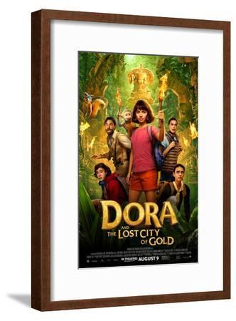 Dora and the Lost City of Gold--Framed Art Print