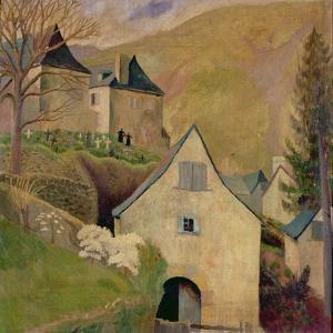 Mountain Church, Larrau by Dora Carrington