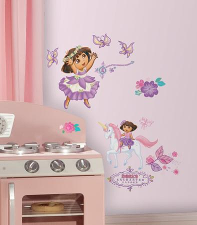 Dora's Enchanted Forest Peel & Stick Wall Decals