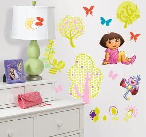 Dora the Explorer Peel & Stick Wall Decals