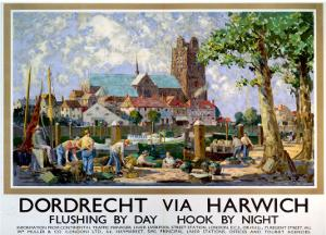 Dordrecht via Harwich, LNER, c.1934