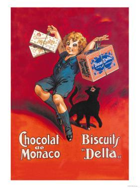 Chocolates from Monaco and Delta Biscuits by Dorfi