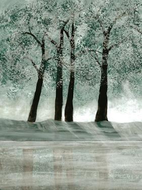 Green Forest 2 by Doris Charest