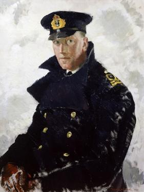 Lieutenant Grahame Johnstone, D.S.C., R.N.V.R. (D.1946) 1940 by Doris Clare Zinkeisen