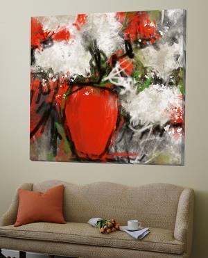 Vase Rouge by Doris Savard