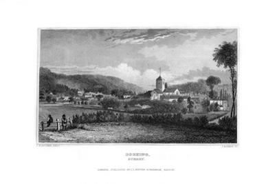 Dorking, Surrey, 1829 by J Rogers