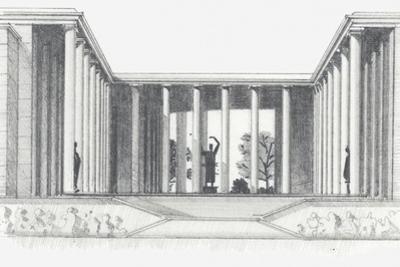 Illustration of Musee D'art Moderne, Paris