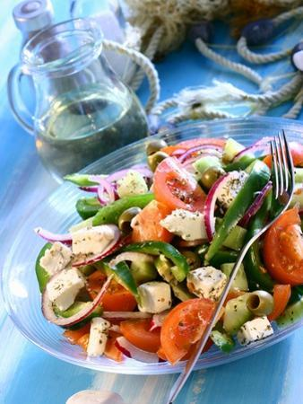 Greek Salad by Dorota & Bogdan Bialy