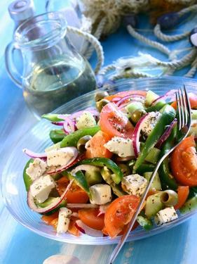 Greek Salad by Dorota & Bogdan Bialy