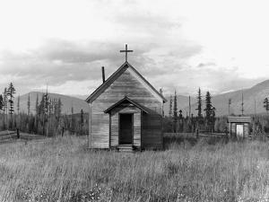 Abandoned Church by Dorothea Lange
