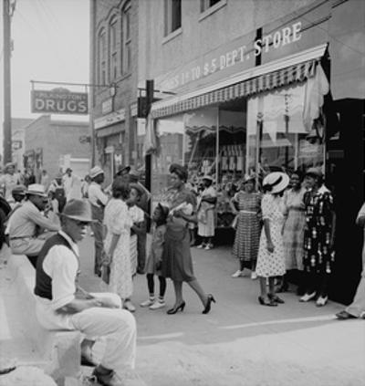 Blacks Shopping on Main Street