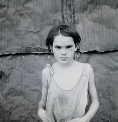 Child Living in Oklahoma City Shacktown