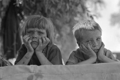 Children of Oklahoma Drought Refugee