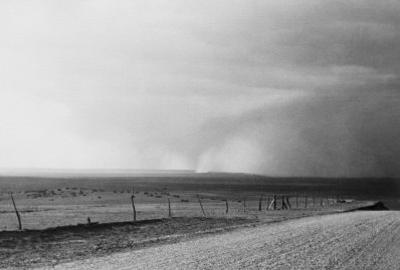 Dust Storm near Mills, New Mexico