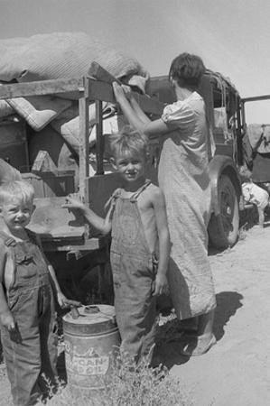 Impoverished Family