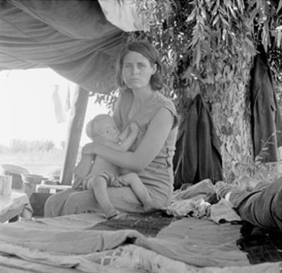Refugees of the Drought of the Dust Bowl