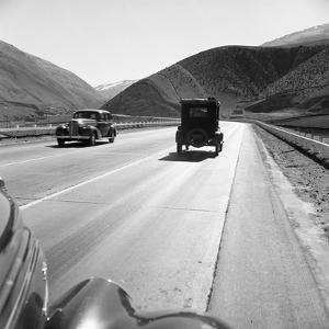 Rural Highway, 1939 by Dorothea Lange
