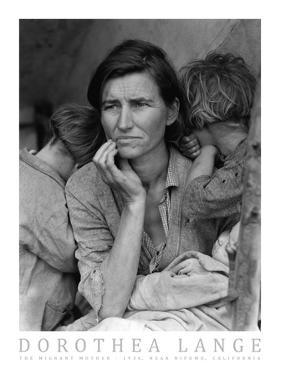 The Migrant Mother, c.1936 by Dorothea Lange