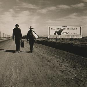 Toward Los Angeles, California, 1937 by Dorothea Lange