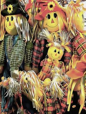 Scarecrow Family by Dorothy Berry-Lound