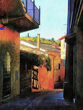 Timeless Passageways Panicale Umbria by Dorothy Berry-Lound