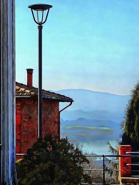 View from Vaiano Over Lago di Chiusi by Dorothy Berry-Lound