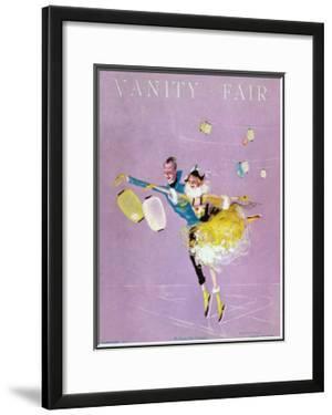 Vanity Fair Cover - February 1917 by Dorothy Ferriss