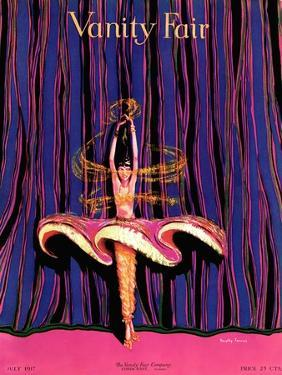 Vanity Fair Cover - July 1917 by Dorothy Ferriss