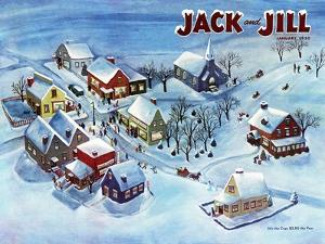 All Is Calm - Jack and Jill, January 1950 by Dorothy Jones