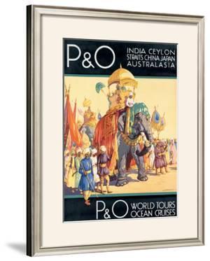 P&O Ocean Cruises by Dorothy Newsome