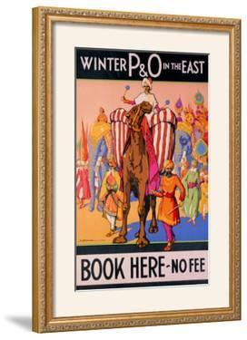 Winter P&O in the East by Dorothy Newsome