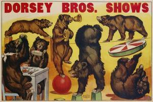 Dorsey Bros. Shows Poster