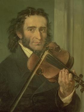 Dortrait of Niccolo Paganini