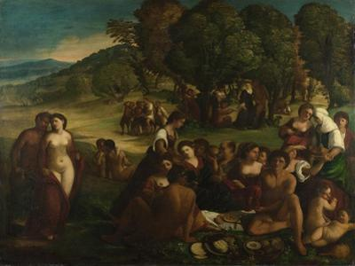 A Bacchanal, C. 1520 by Dosso Dossi