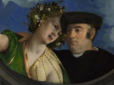 A Man Embracing a Woman, Ca 1524 by Dosso Dossi