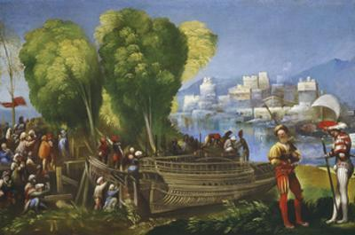 Aeneas and Achates on the Libyan Coast, C.1520 by Dosso Dossi