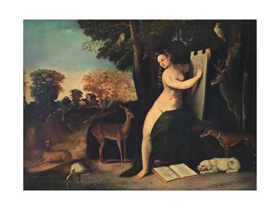 'Circe and Her Lovers in a Landscape', c1525