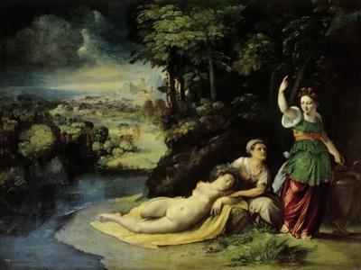 Diana and Callisto, Circa 1528 by Dosso Dossi