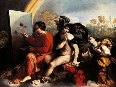 Jupiter and Painter by Dosso Dossi