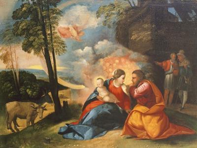 Nativity of Jesus, Circa 1512-1513 by Dosso Dossi
