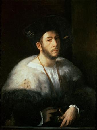Portrait of a Man, Possibly Cesare Borgia by Dosso Dossi