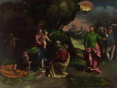 The Adoration of the Kings, C.1535 by Dosso Dossi