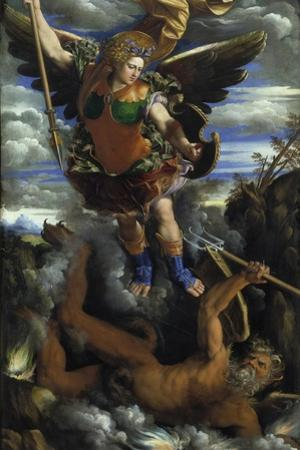 The Archangel Michael, C. 1540 by Dosso Dossi