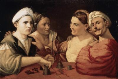 The Magicians by Dosso Dossi