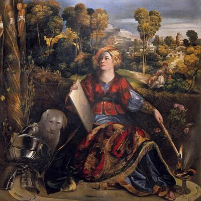 The Sorceress Melissa by Dosso Dossi