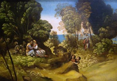 Three Ages of Man by Dosso Dossi